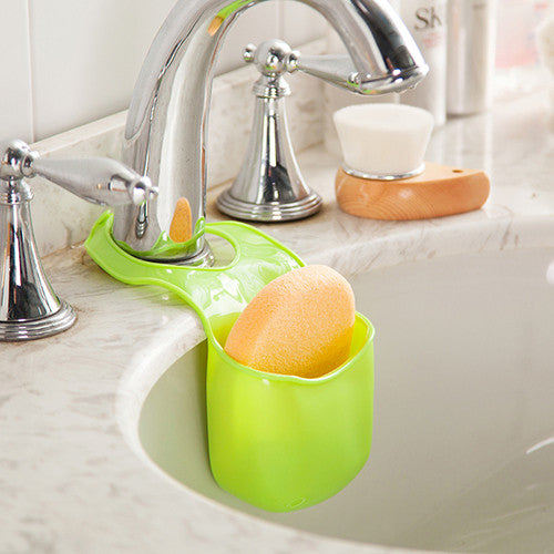 Silicone Sponge Storage Rack Basket Wash Cloth Toilet Soap Shelf Organizer Kitchen Gadgets Accessories Supplies Items Products