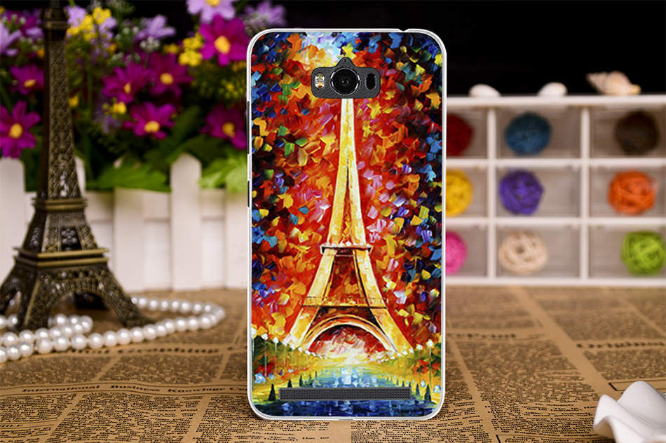 new concept 463da 00c00 Silicone TPU Mobile Phone Case For ASUS Zenfone MAX Z010D ZC550KL Z010DA  5.5 inch Cases Cover Flower Plastic painted shell skin