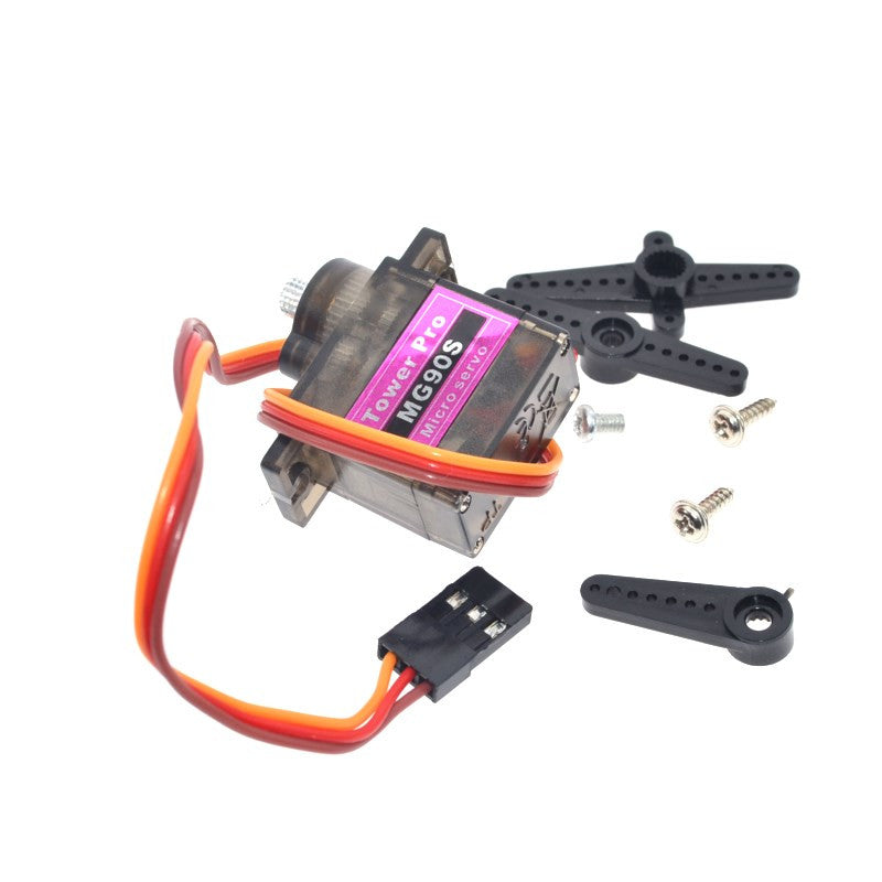 Smart Electronics Tower Pro MG90S 9g Metal Gear Upgraded SG90 Digital Micro Servos for Smart Vehicle Helicopter Boart Car