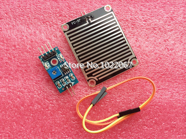 Snow Raindrops Detection Sensor Module Rain Weather Module Humidity For Arduino
