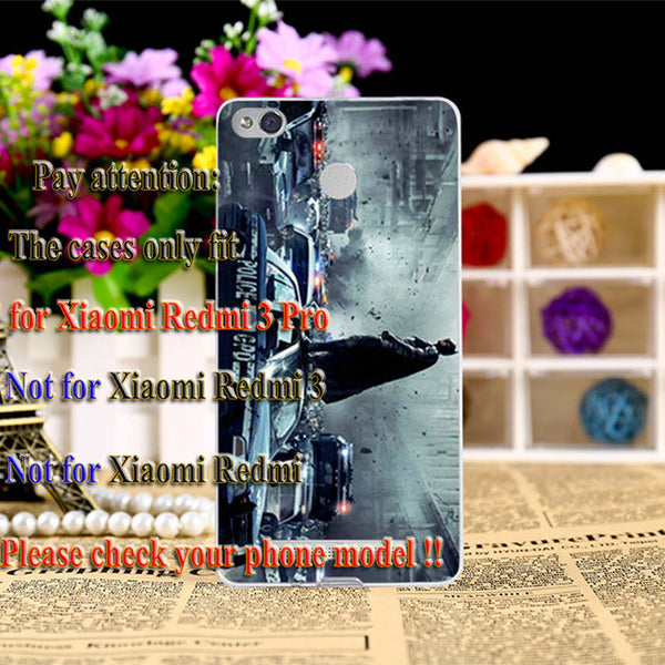 Soft TPU Hard PC Phone Bags Housing For Xiaomi Redmi 3S 3X Redmi 3 Pro Redmi 3S Pro Cases Cover Captain American Batman Shell