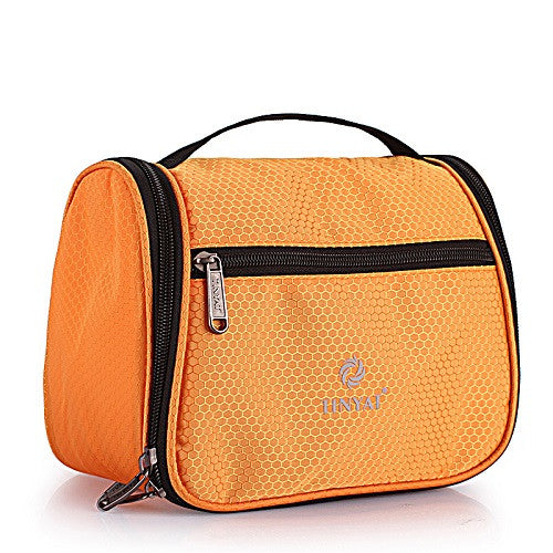 TINYAT Portable make up travel wash bag Multifunctional high capacity women cosmetic bag organizer toiletry bag T702 Blue