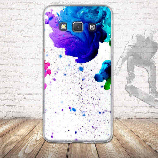 TPU Soft Case for Samsung Galaxy A3 A300 Cover Luxury 3D Relief Priting Back Silicone Phone Case Cover For Samsung A3(2015) Bag
