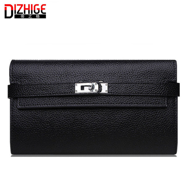 Dizhige Solid Pu Wallet Women Cyb1225