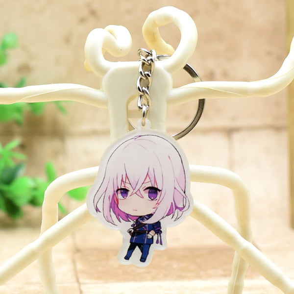 Touken Ranbu Online acrylic Keychain Action Figure Pendant Car Key Accessories 8 Styles Cute Anime Collection DJLW001 LTX1