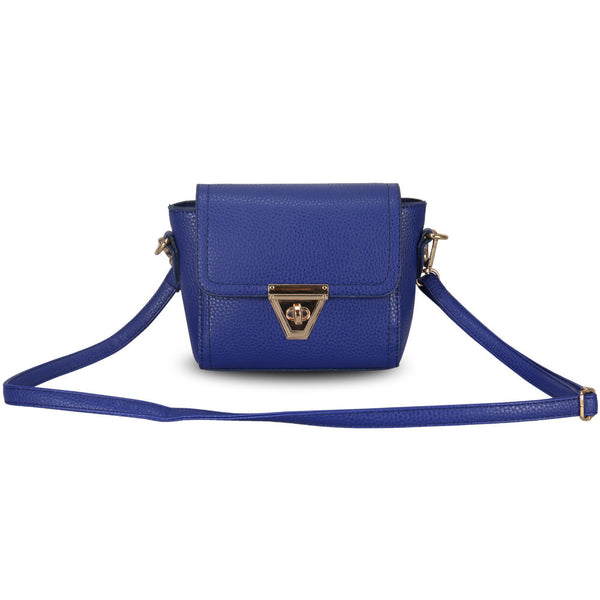 Veevanv Lock Solid Pu Handbags Women Wfcsb01676