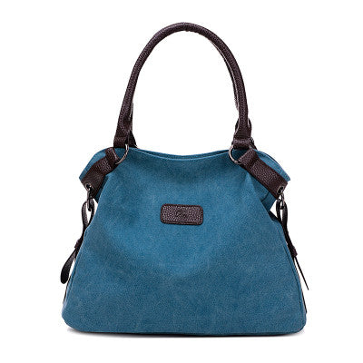 Dizhige Solid Canvas Handbags Women Wt169