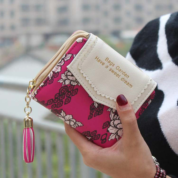Badiya Floral Pu Wallet Women Ww03194