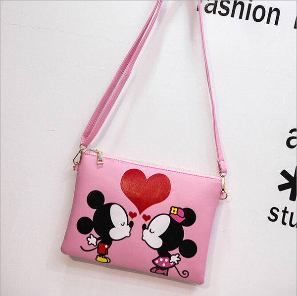 Rusoonnic Cartoon Printing Character Pu Handbags Women Kt25314