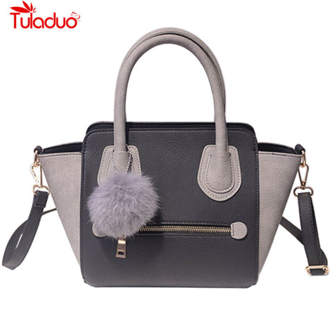 Tuladuo Sequined Panelled Pu Handbags Women As-113