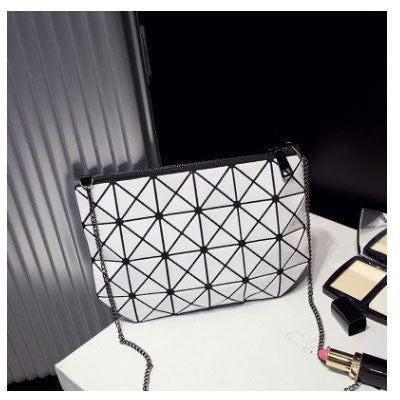Thethree Girls Geometric Pvc Handbags Women 1062