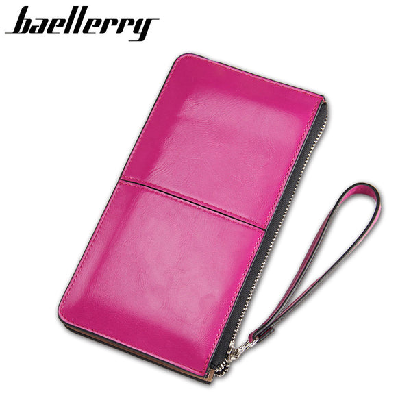 Baellerry Solid Pu Wallet Women 2204