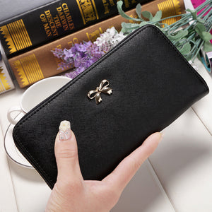 Luoteaidi Solid Pu Wallet Women B005