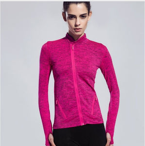 Women Yoga Gym Compression Tights Sport T Shirt Fitness Women Quick Dry Running Tops Long Sleeve T-shirts Body Shaper Tee Shirts
