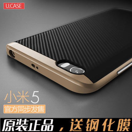 Xiaomi mi5 Case Cover TPU + PC Hybrid Dual Layer With Frame Back Cover Protective Case For xiaomi 5 Mobile Phone