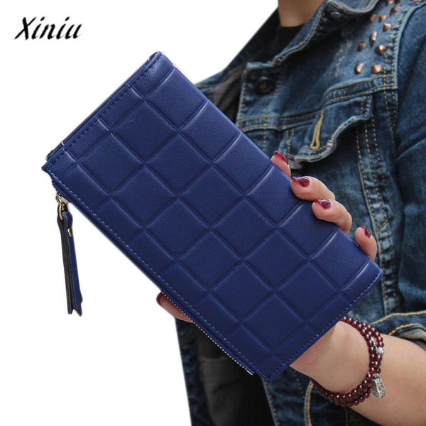 Xiniu Geometric Pu Wallet Women 2-22-004