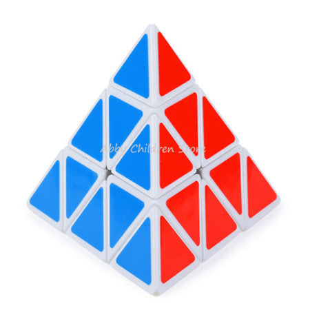 YJ Moyu Pyramid Magic Cube Pyraminx Speed Puzzle Cube Game Triangle Shape Cubos Magicos Twist Puzzle Learning Educational Toys