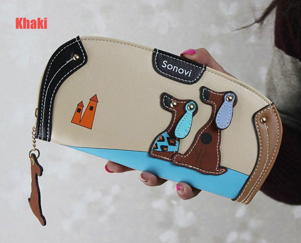 Youyou Mouse Animal Prints Pu Wallet Women Ww30036