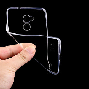 new products ecf26 8798b ZTE Blade V7 Lite Case Cover 0.6mm Transparent TPU Soft Cover Phone Case  For ZTE Blade V7 Lite Back Cover Case (5.0 inch)