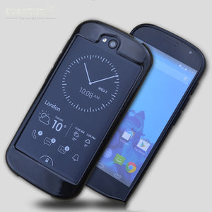 ZUANDUN Case For YotaPhone 2 Transparent Clear Soft Silica Gel TPU Case Silicone Cover For YotaPhone 2 Mobile Phone Case