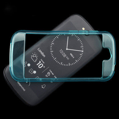 ZUANDUN Silicon Case For Yota YotaPhone 2 TPU Transparent Clear Cover Full Protect For YotaPhone 2 Mobile Phone Case