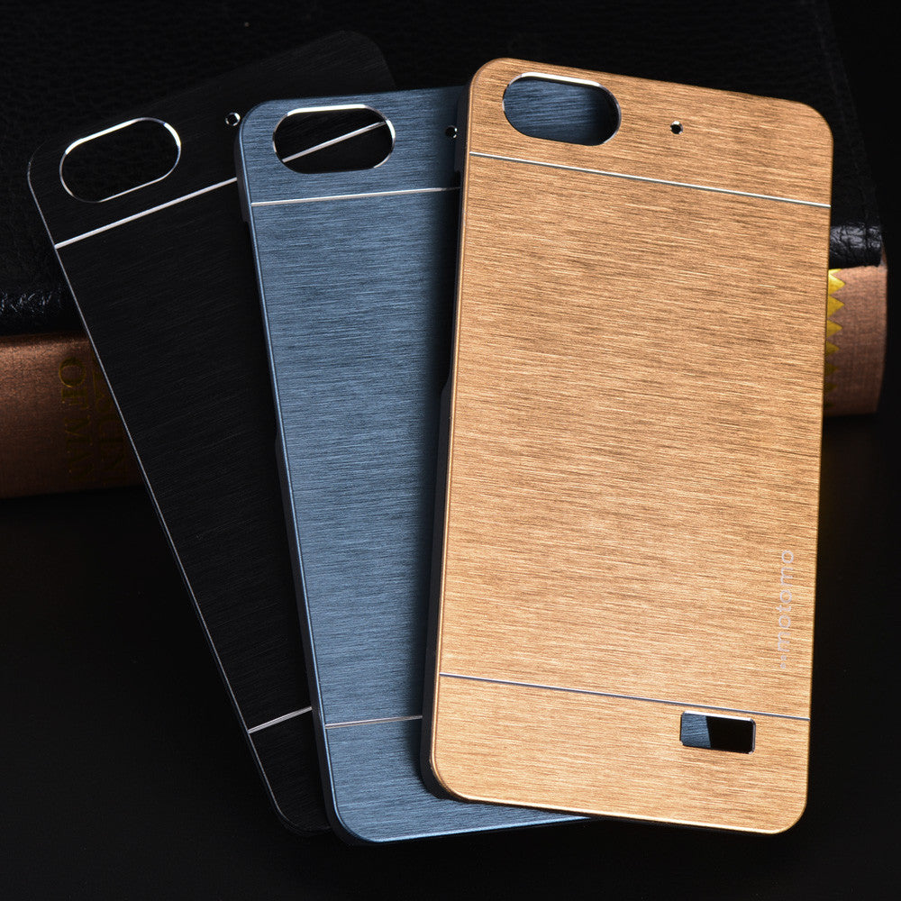 brand new 803c2 a46ee Aluminum Case For Huawei Honor 4C Case Motomo Luxury Metal Brush Hard PC  Back Cover Accessories For Honor 4C 4X Phone Case Funda