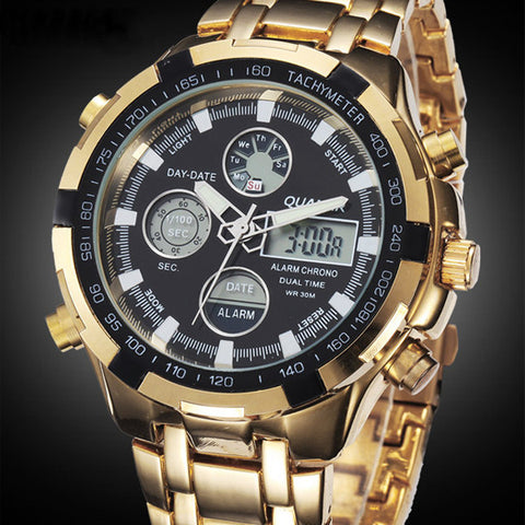 Amst Quartz Stainless Steel Quartz Wristwatches Men Sd-165