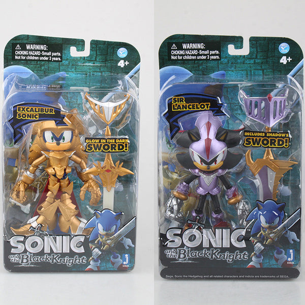 Anime Excalibur Sonic and the Black Knight 1 9 scale painted PVC Action Figure Collectible Model Toy 12-14cm KT2179