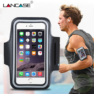 Armband For iPhone 6 Case Sports Arm Belt Mobile Phone Holder Bag For iPhone 7 6S 5S For Samsung Galaxy J5 2016 Phone Cases Bag