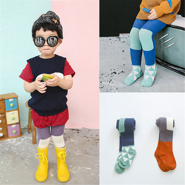 Autumn Cute Cotton Pantyhose Kids Toddler Girls Boy Tights Child Baby Tights & Stockings