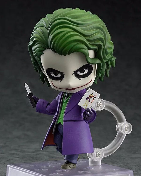 Batman Action Figure Nendoroid Joker Figures 100mm Nendoroid 566# Bat-man Model Toys Movie The Dark Knight Rises