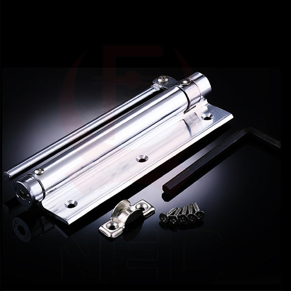 Brand NED Adjustable 45KG Aluminum Door Closer Light Door Closer Household With Automatic Door Spring Strength Door Weight