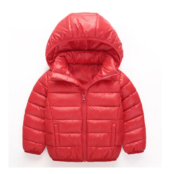 Brand Sunshine Kid 2016 New Winter Warm Coat Baby Boys Girls Outerwear & Coats Fashion White Duck Down Jacket Coat for Boys