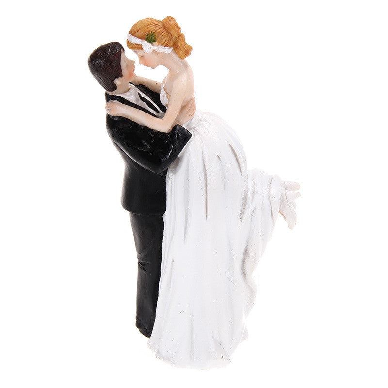 dancing couple wedding cake topper groom resin figurine wedding cake 13328
