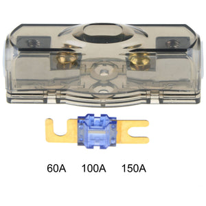 car fuse box block fuse holder stereo seats transparent insurance voltage  display durable accessory tool
