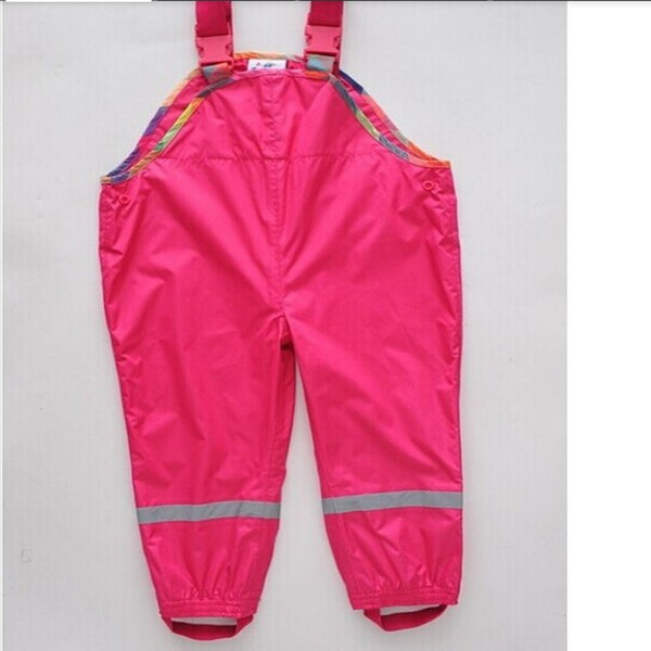 Children's Clothing cold wind and waterproof girls pants children overalls pants children Trousers boys pants