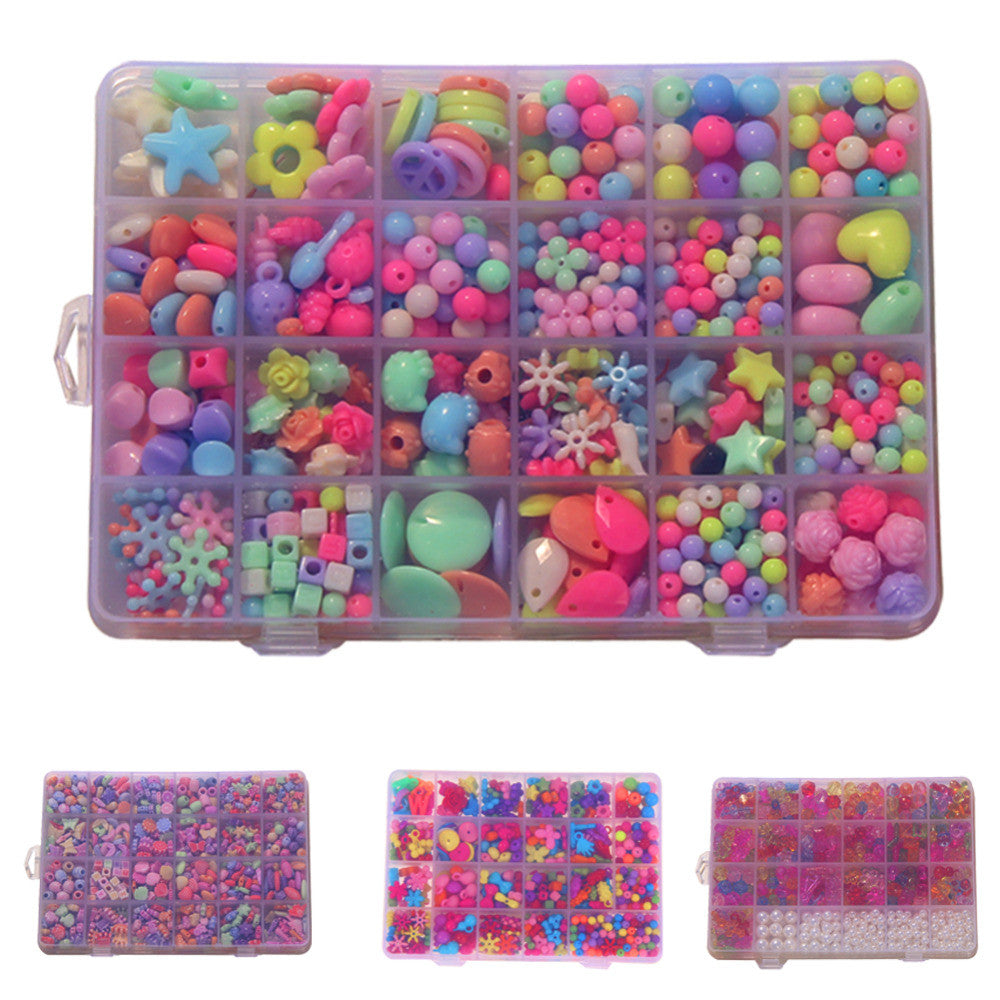 450pcs Children Amblyopia Candy Colors Diy Wear Beads Bracelet Geometric Shape Personalized Jigsaw Puzzle Kids Toys Cheapest Price From Our Site Toys & Hobbies Puzzles