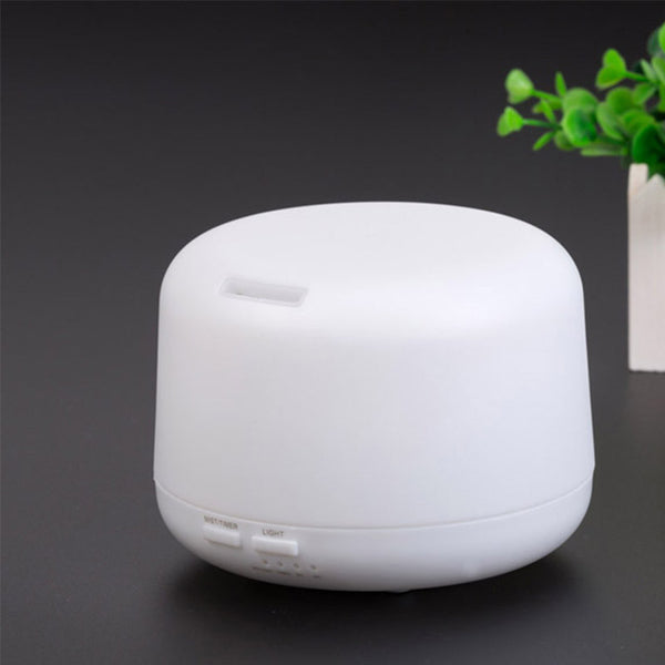 Control Remoto Aromatherapy Essential Oil Diffuser 7 colors 300 ml Mist Aroma Humidifier with changing Colored LED Lights