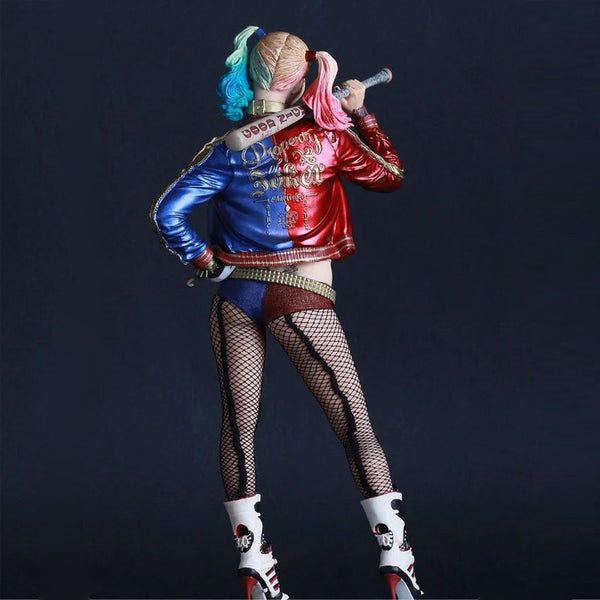 Crazy Toys Suicide Squad Harley Quinn Action Figure PVC Doll Anime Collectible Model Toy 26cm