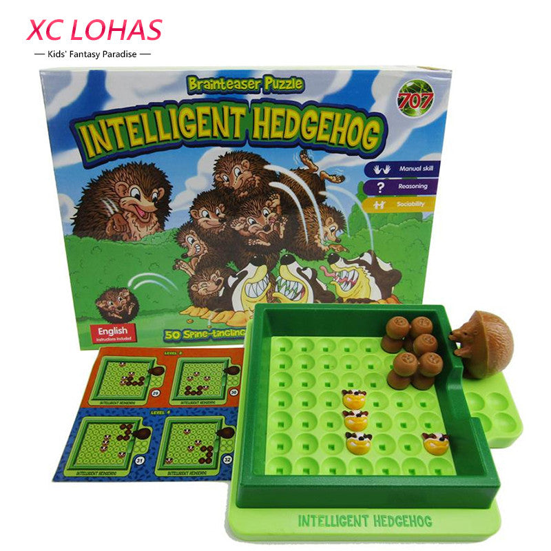 Creative Maze Toy Room Escape Scroll Intelligent Hedgehog Puzzle Funny Board Game Brain Teaser Interactive Game Educational Toys