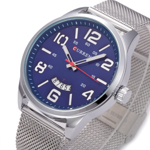 Curren Stainless Steel Quartz Alloy Quartz Wristwatches Men
