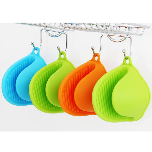 Cute Candy Colors 1PCS Kitchen Cooking Microwave Oven Mitt Insulated Non-slip Glove Fast Shipping C5