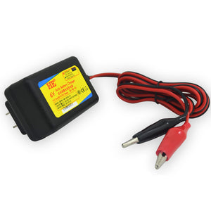 dc7.2v 1A 6v smart auto charger rechargeable lead acid battery charger 6v for battery 6V 4ah 4.5ah 7ah 10ah 12ah LED indicator