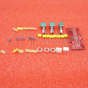 DIY kits HIFI Pre amplifier Passive Tone Board Bass Treble Volume Control  Preamp