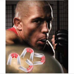 Mouth Guard Double Side Gum Shield Boxing MMA Basketball Sports Teeth Protection