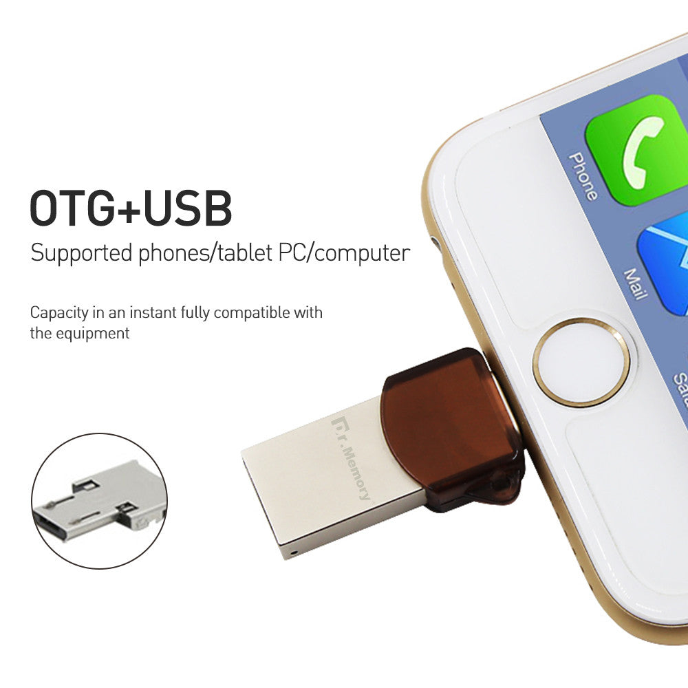 on sale a7092 662f8 Dr.Memory OTG USB flash drive 64GB MFI Pen drive For iphone 7 7Plus ...