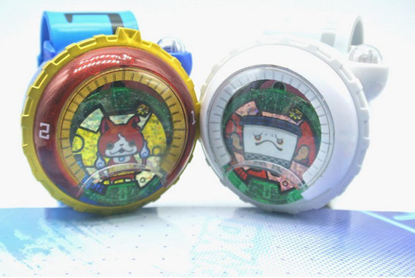 DX Yo-kai Watch Japan Anime Yokai Watch Lighting sound watch Medal Baby gifts Insert the card sound best gift for children