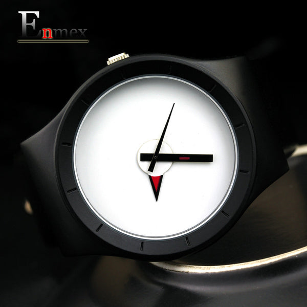 Enmex Leather Quartz Alloy Quartz Wristwatches Men E322