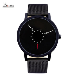 Enmex Stainless Steel Quartz Alloy Quartz Wristwatches Women E806