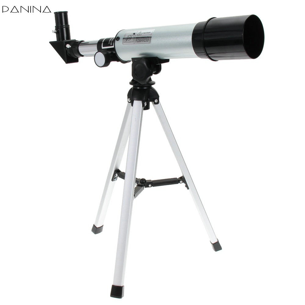 F36050m 360 50mm Refractive Astronomical Telescope With Portable Tripod Spotting Scope Outdoor Monocular Astronomical Telescopes